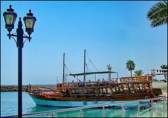 Antalya : belle barche per portare i turisti a spasso