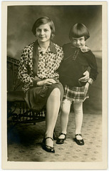 Mellie and Corrine Smith, March 21, 1929