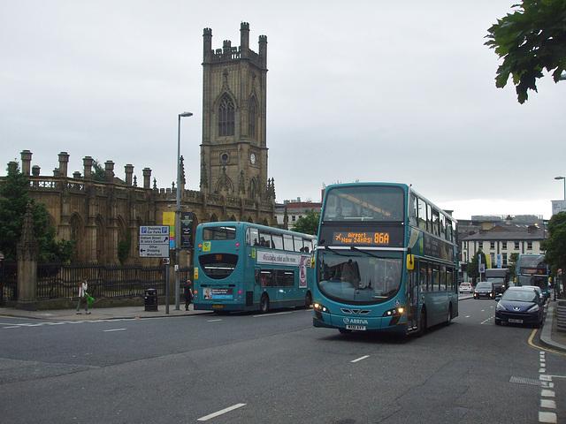 DSCF8065 Arriva Merseyside buses in Liverpool - 16 Jun 2017