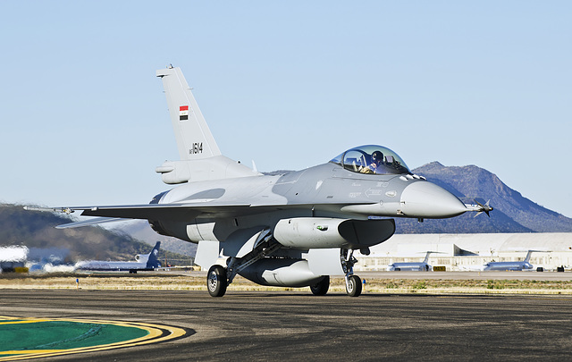 Iraqi Air Force Lockheed Martin F-16C Fighting Falcon 1614 (12-0011)