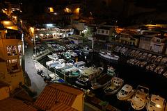 Port de pêche au vallon des Auffes Marseille