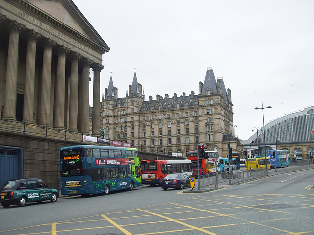 DSCF7823 Buses in Liverpool - 16 Jun 2017