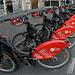 Tous ces vélos :-) V Lille