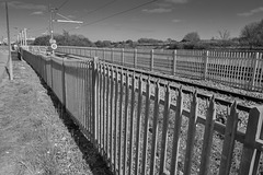''Have a HFF everyone'' from Dj.... with rail trackside fence... pretty boring - but plenty of it !!