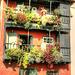 Traditionelle Balkone. ©UdoSm