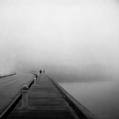 walking the pier