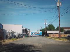 Tostitos roadblock