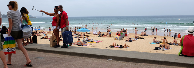 At Manly Beach