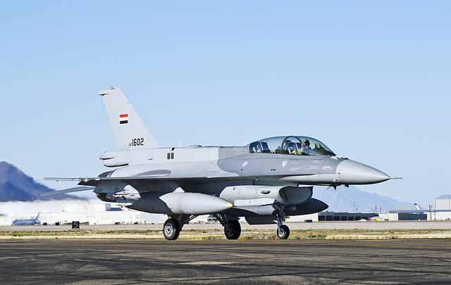 Iraqi Air Force Lockheed Martin F-16D Fighting Falcon 1602 (12-0017)