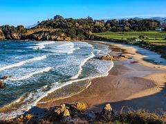 La playa de Toranda, Niembro, Llanes.