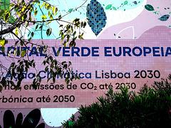 Lisbon European Green Capital 2020,  Commemorative mural