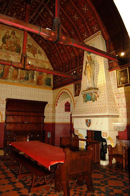 Castell, Coch, Glamorgan, Wales
