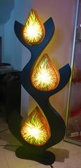 Drei Leuchten - tri lumoj