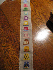 A Year of Thimbles by Sunshine Stitches