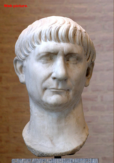13th Emporer Traianus during the Peak of the Roman Empire