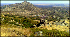 La Sierra de La Cabrera from the northwest