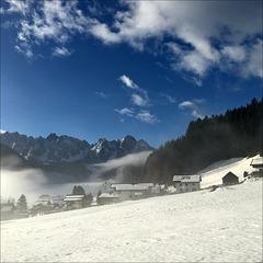 Dachsteingebirge.