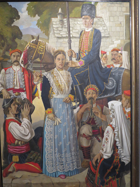 Musée ethnographique de Split : costumes XIXe.