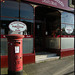 Park End pillar box