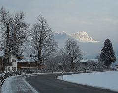 Wintermorgen in Schönau/ Königssee
