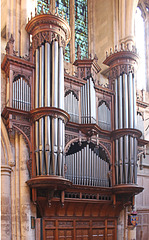 Southwark Cathedral The organ pipes - 12.12.2018