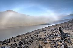 Fog Bow over Dovestones.