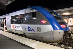 BESANCON: Gare Viotte: Autocolant TER Conseil Régional Franche-Comté. 05