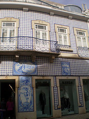 House with tiles.