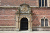 Denmark, Frederiksborg Castle Courtyard, The Door