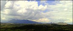La Sierra de La Cabrera from the southeast