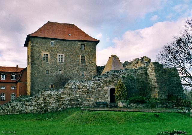 Kapellendorf, Wasserburg, Kemenate und Ruine der Burgküche