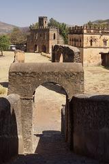 Fasil Ghebbi (Royal Enclosure)  in Gondar