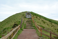 Azores, The Island of Faial, Chapel on the Ridge of Caldeira