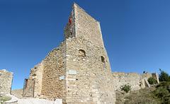Albania, Vlorë, Entrance to the Castle of Kaninë