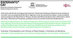 Presentació de llibre a Barcelona