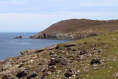 On the Dingle Peninsula at Slea Head