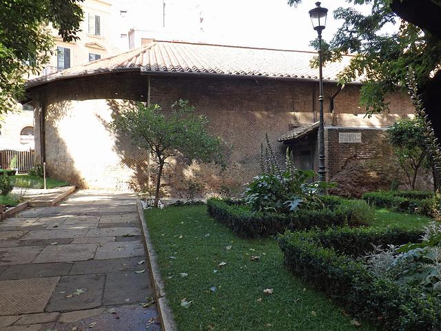 The Auditorium of Maecenas in Rome, June 2014
