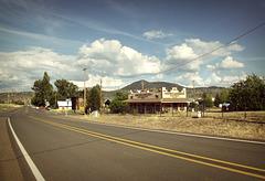 Beautiful downtown Beatty, Oregon