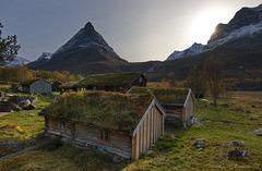 Renndølsetra, Innerdalen valley.