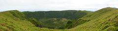 Azores, Caldeira of Cabeço Gordo on the Island of Faial