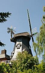 Windmühle in Garlstorf (2xPiP)
