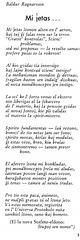 """Baldur Ragnarsson - poemo """"Mi ĵetas"""""""