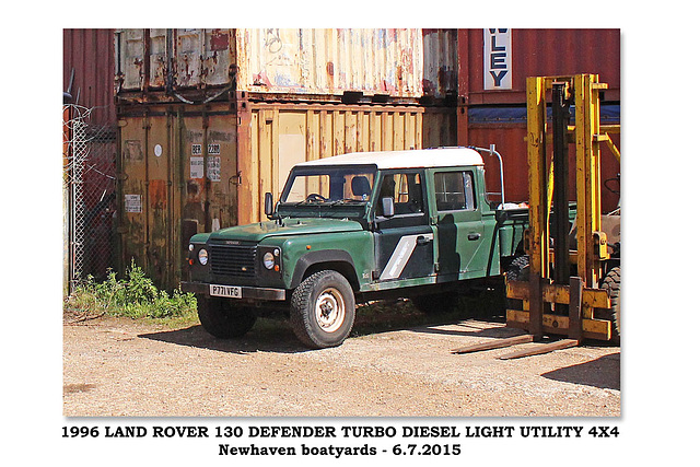 1996 Landrover Defender - Newhaven - 6.7.2015