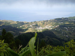 View from Pico Alto to the eastern coast of Santa Maria.