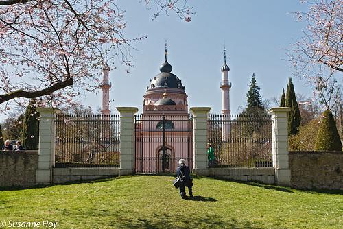 Moschee hinter Gittern - Mosque behind bars