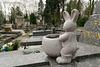 Gentil lapin funéraire