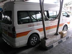 Minivan vers Pakbara