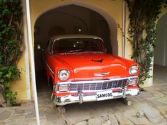 Chevrolet Belair Sport Sedan (1956).