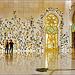 AbuDhabi : la sala di ingresso alla grande moskea