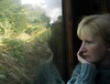 Reflections on a train journey